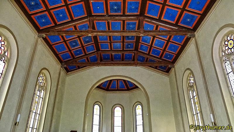 Kasettendecke Dorfkirche Speck