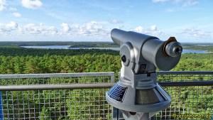 Wandern Mecklenburgische Seenplatte - Blick vom Käflingsbergturm