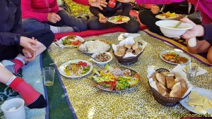 Hauser Exkursionen - Mittagspause im Tal der Glückseligen