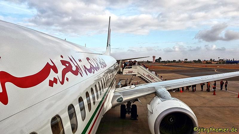 Flugzeug Royal Air Maroc