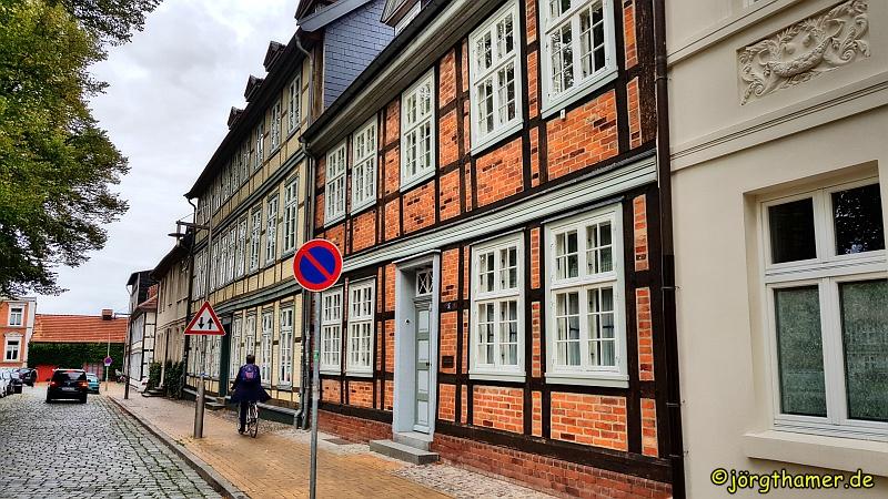 Fachwerkhäuser in der Schelfstadt Schwerin