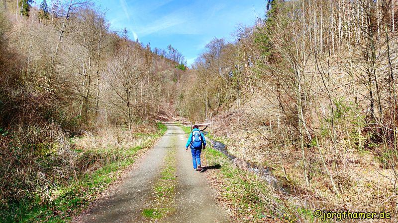 Durchs Kaltbachtal