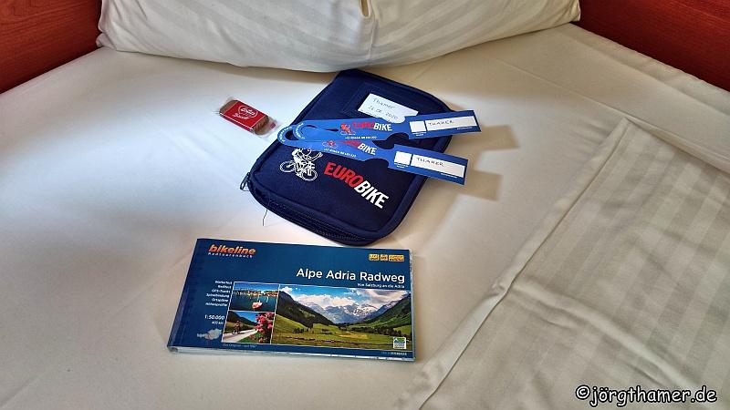 Alpe-Adria-Radweg mit Eurobike