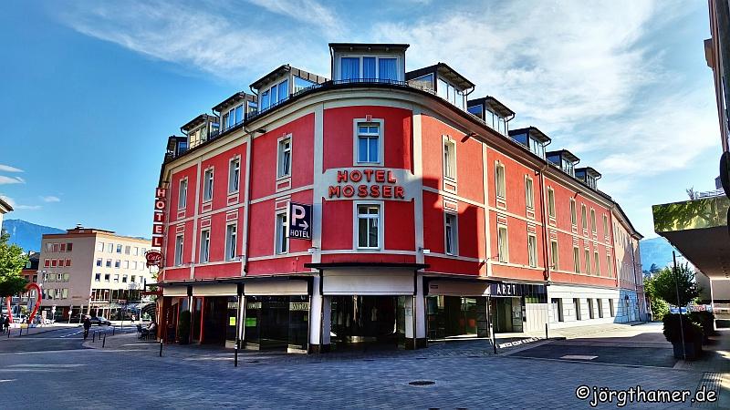 Gute Wahl - das Hotel Mosser in Villach