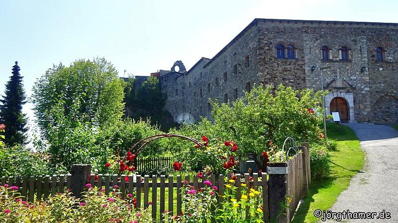 Die Klosterruine in Arnoldstein