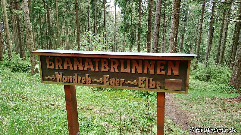 Der Granatbrunnen bei Bad Neualbenreuth