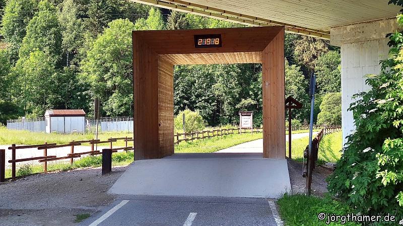 Zähler Alpe-Adria-Radweg