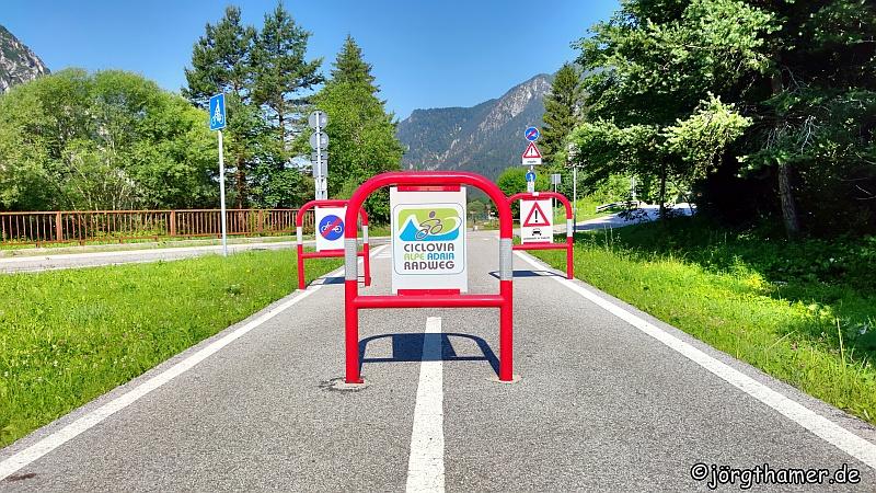 Der Alpe-Adria-Radweg