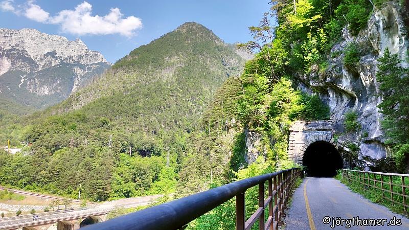 Tunnel Alpe-Adria-Radweg