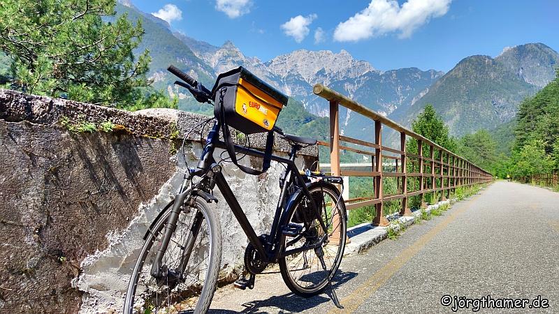 Unterwegs am Alpe-Adria-Radweg