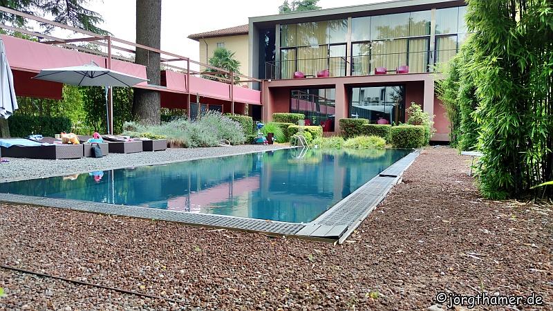 Mit Pool - das Hotel Chlocciatti next