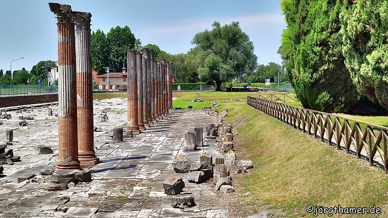 Das Römerforum in Aquileia