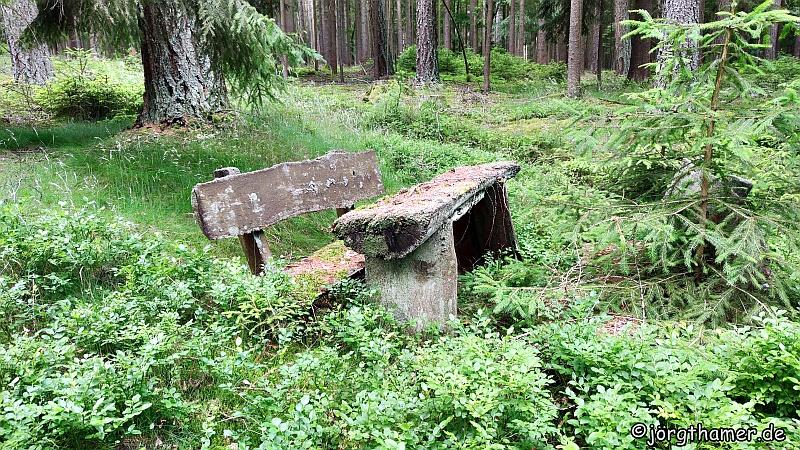 Lost Bankerl am Rinnlstein-Rundweg
