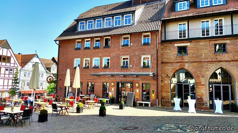 """Das Hotel """"Die Sonne Frankenberg"""" - Drei Tage """"Genusswandern im Ederbergland"""""""