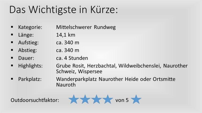 Naurother Grubengold - Kurzübersicht