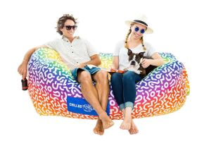 The Chillbo Baggins Inflatable Lounger Sofa