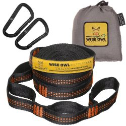 Hammock Straps By Wise Owl Outfitters