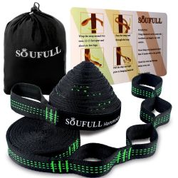 XL Hammock Straps Soufull Outdoor Tree Straps