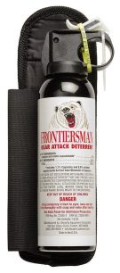 Frontiersman Bear Spray with Chest or Belt Holster
