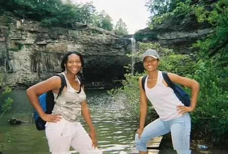 We did it! DeSoto Falls