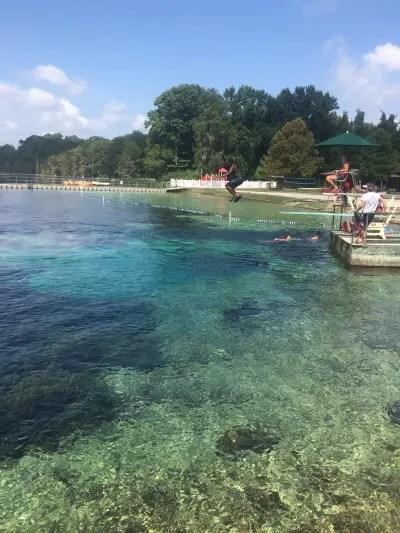 Florida Springs outdoor adventure in north florida
