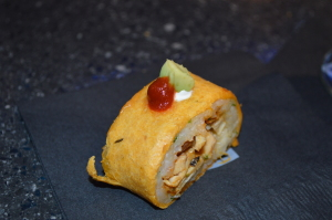 food at Topgolf Tampa