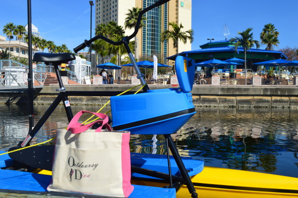Outdoorsy Diva tampa bay water bikes