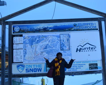 ski day trip adventure