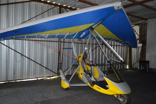 motorized hang glide