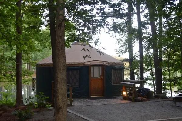 georgia yurt