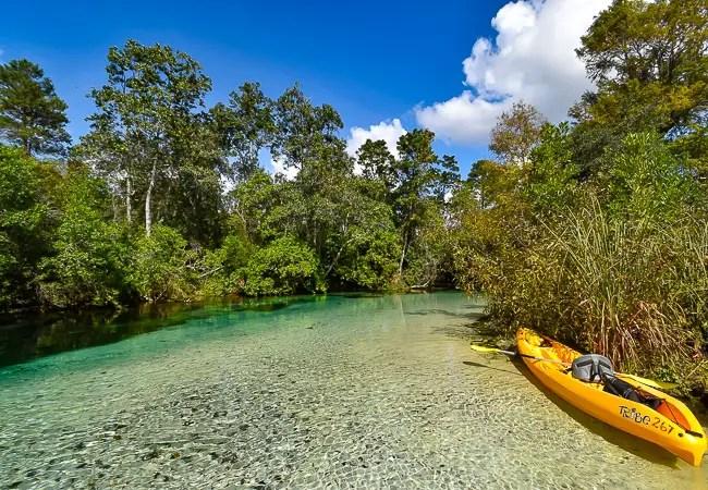 weeki wachee kayaking