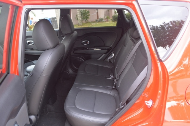 Kia Soul! backseat