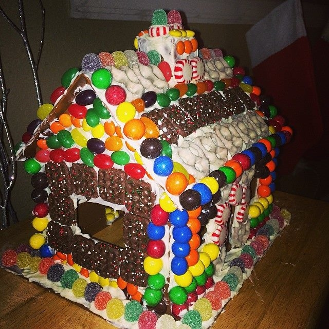 christmas bucket list fancy gingerbread house