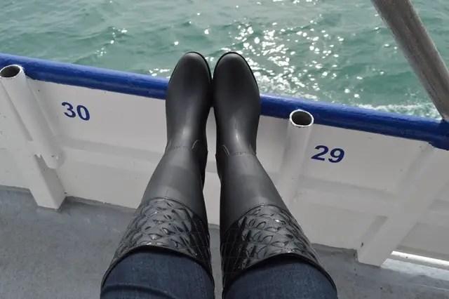 deep sea fishing boots