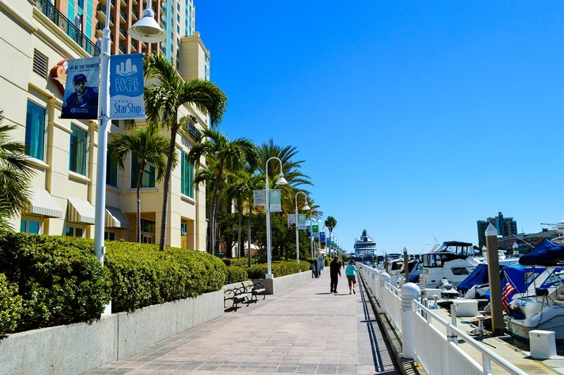 things to do in Tampa tampa riverwalk activities