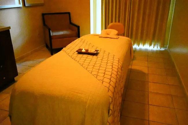 Salamander Spa Massage black owned resort