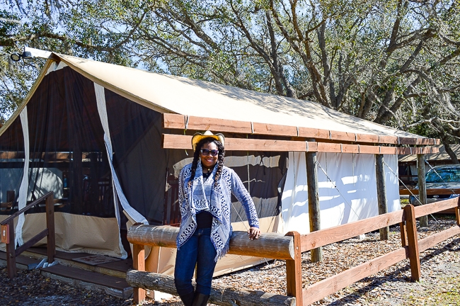 glamping in florida in the winter