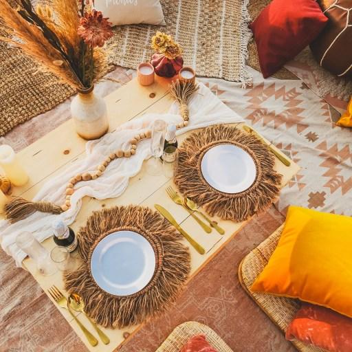 tablescape pop-up picnic luxury