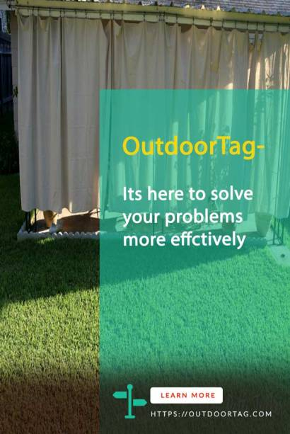 How to Hang Outdoor Curtains with Wire