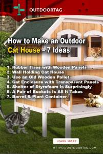 How to Make an Outdoor Cat House ¬– 7 Ideas Not to Miss