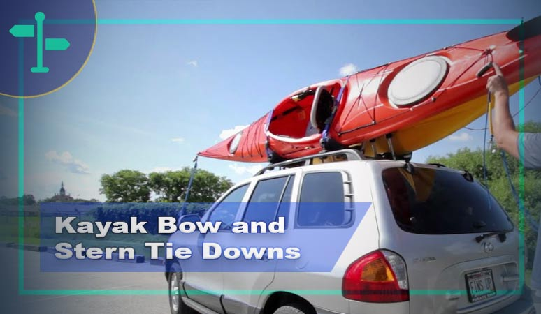 Kayak Bow and Stern Tie Downs