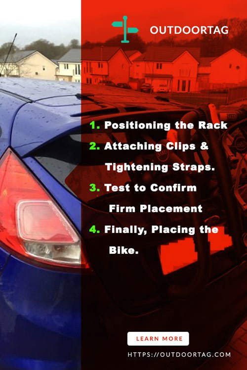 Steps of How to Install a Bike Rack on a Hatchback Car