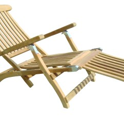 Teak Steamer Chair Staples Canada Ergonomic Chairs American By Royal Collection Stml
