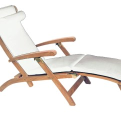 Cushions For Steamer Chairs How Much Does A Pedicure Chair Cost American Cushion By Royal Teak Collection Outdoor More White