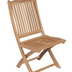 Armless Folding Chair Swing With Stand India Sailor Teak By Royal Collection Sfcwa