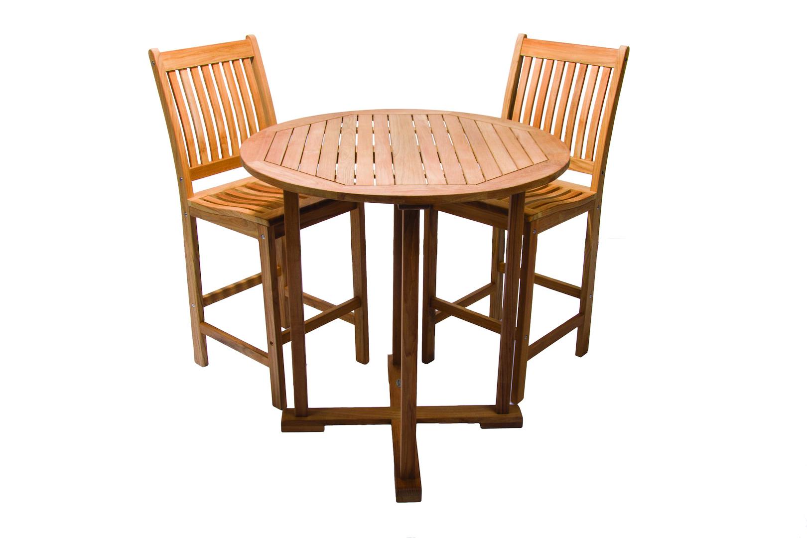 Teak Bar Chair by Royal Teak Collection - BARC - Outdoor Teak & More