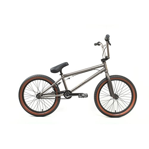 KHE Bikes Root 180 Freestyle BMX Bicycles, Grey