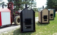 NEW AD! SHAVER Best Outdoor Wood Burning Furnace Boiler