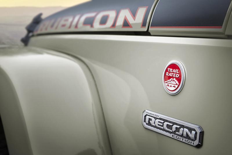 Leaked 2017 Jeep Wrangler Rubicon Recon