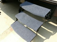 DIY Project: Inexpensive carpets for your camper stairs ...